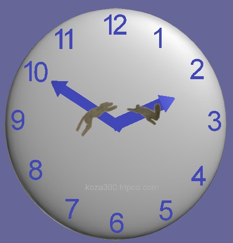 greyhound-rabbit clock.jpg?1349909045080